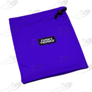 Funky Trunks® Mini Mesh Bag Still Blue
