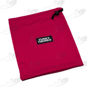 Funky Trunks® Mini Mesh Red