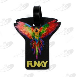 Funky® Gepäckanhänger King Parrot