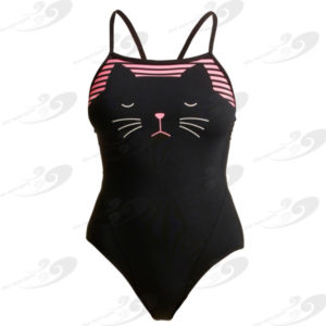 Funkita® Crazy Cat Single Strap 1
