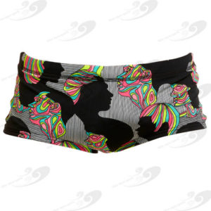Funky Trunks® Face Off Plain Front Trunk 1