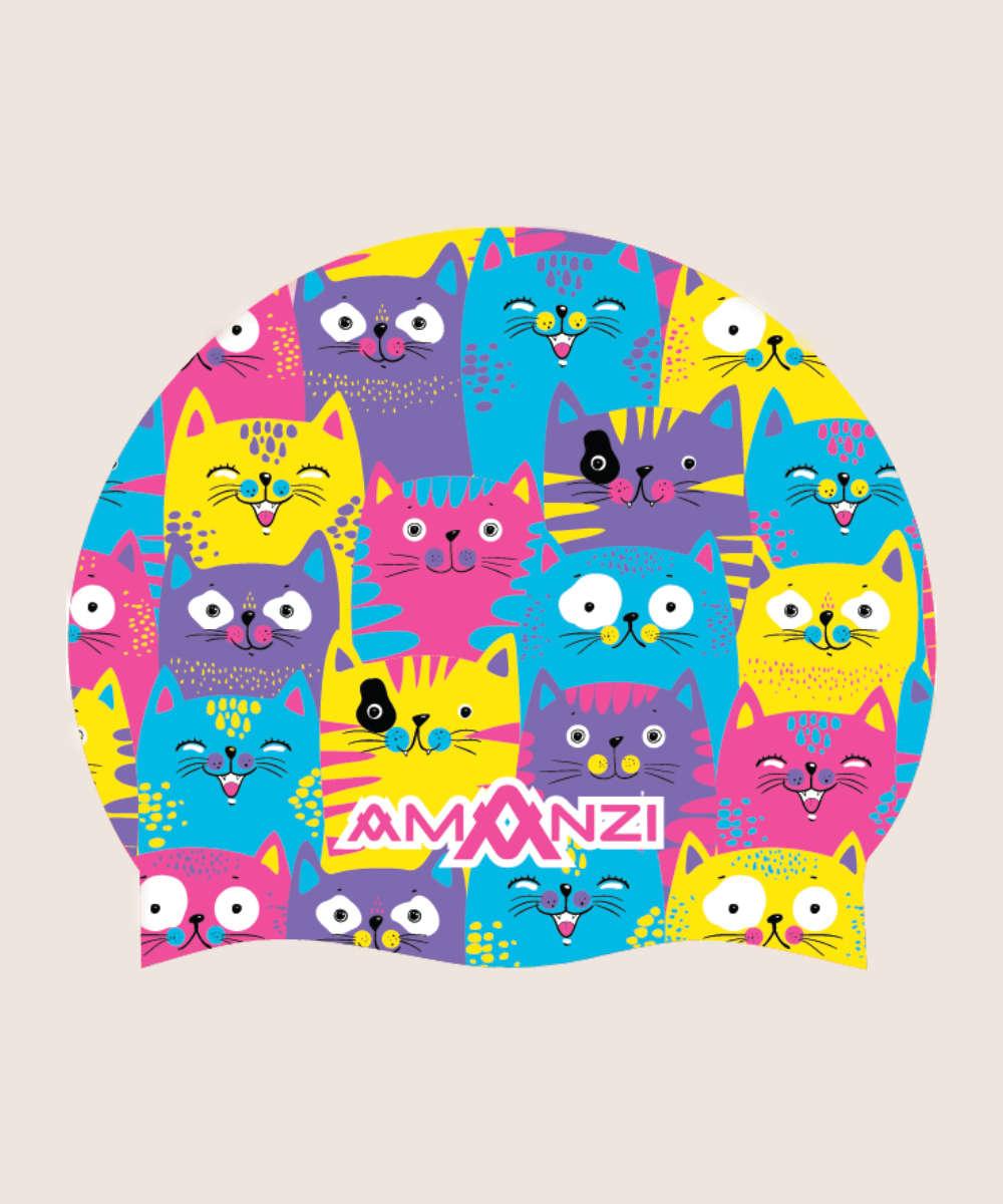 AMANZI® Cool Catz Badekappe 2